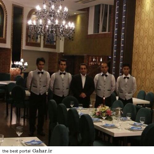 ghale noei restrunt1 قلعه نویی هم صاحب رستوران شد + عکس افتتاحیه