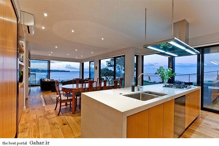 mail 22 خانه ای با نما و دکوراسیون داخلی چوبی در نیوزیلند