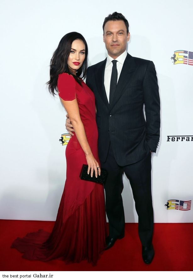 megan fox ferrari s 60th anniversary in the usa gala in beverly hills 101 فتوشات های جدید مگان فاکس و همسرش