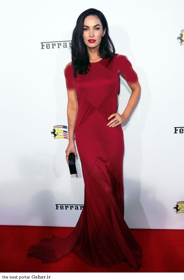 megan fox ferrari s 60th anniversary in the usa gala in beverly hills 41 فتوشات های جدید مگان فاکس و همسرش