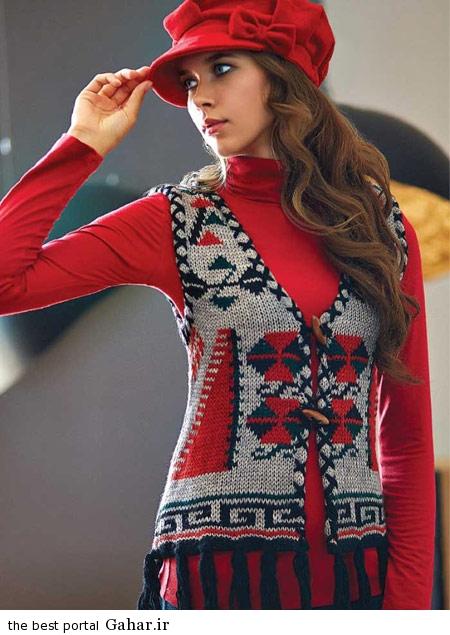 model baft 93 5 مدل جدید لباس بافت زنانه و دخترانه زمستان 93