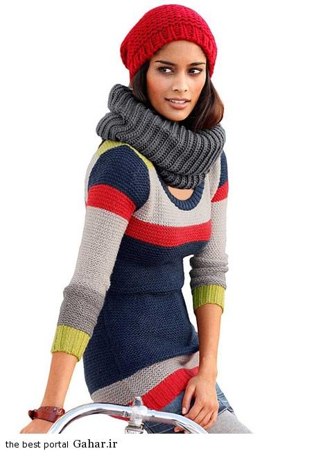 model baft 93 6 مدل جدید لباس بافت زنانه و دخترانه زمستان 93