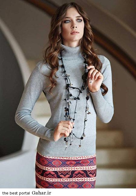 model baft 93 7 مدل جدید لباس بافت زنانه و دخترانه زمستان 93