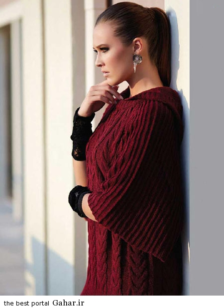 model baft 93 مدل جدید لباس بافت زنانه و دخترانه زمستان 93