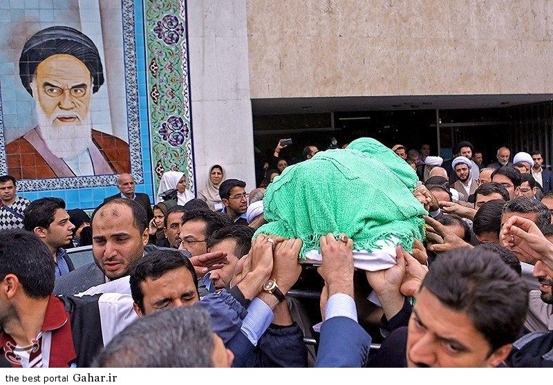 tashi mahdavi kani ayatollah5 مراسم تشییع پیکر آیت الله مهدوی کنی / عکس
