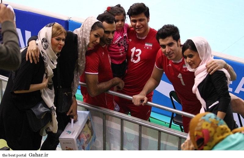 tim valibal khanevade عکس شادی والیبالیست ها و همسرانشان پس از قهرمانی
