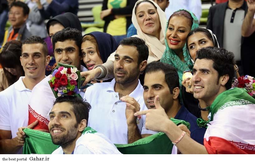 tim valibal khanevade5 عکس شادی والیبالیست ها و همسرانشان پس از قهرمانی