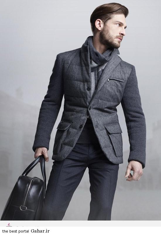 121174 مدل لباس مردانه زمستانی برند Corneliani