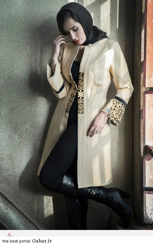 14005 مدل های ایرانی مانتو پاییزه از برند Aida Rahimi