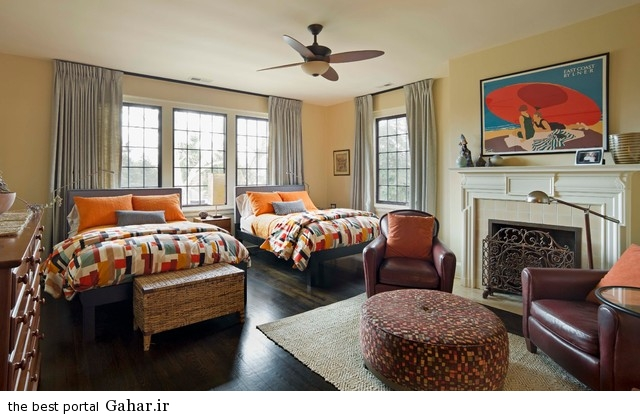 2013 bedroom decoration 2 دکوراسیون و چیدمان اتاق خواب های بزرگ