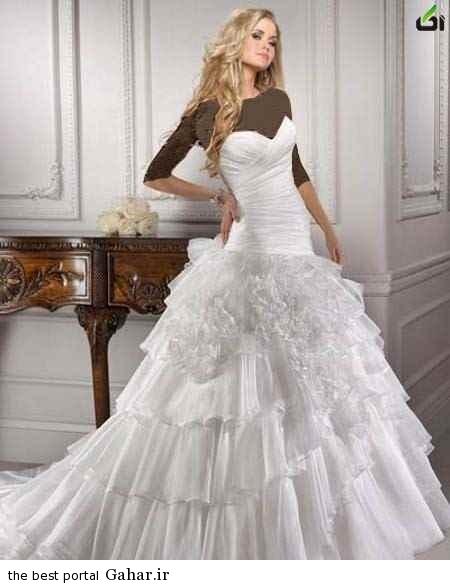 201362712191325a.jpg رؤیایی ترین مدل های لباس عروس 2014