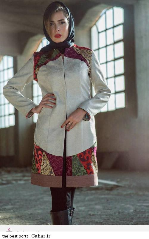 21679 مدل های ایرانی مانتو پاییزه از برند Aida Rahimi