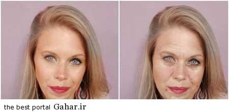 221 تاثیر استرس بر چهره افراد