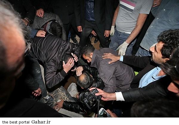 256161 545 مرتضی پاشایی را شب دفن کردند / عکس