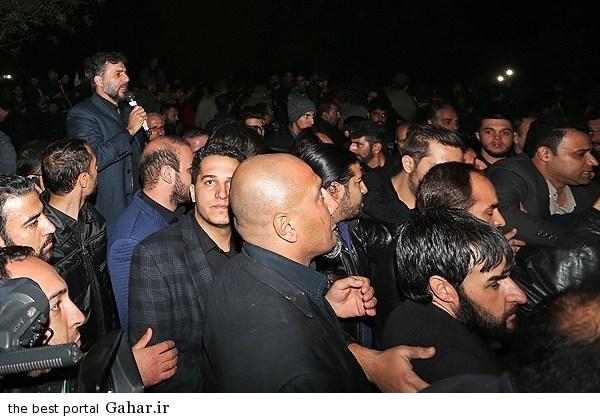 256165 121 مرتضی پاشایی را شب دفن کردند / عکس