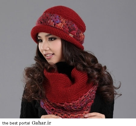 2a4f6c8b3a مدل جدید شال و کلاه دخترانه