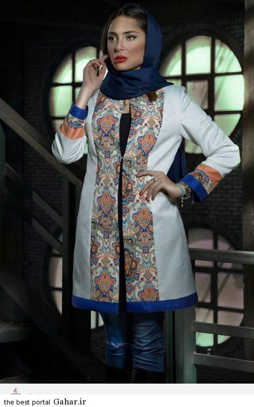 31388 مدل های ایرانی مانتو پاییزه از برند Aida Rahimi