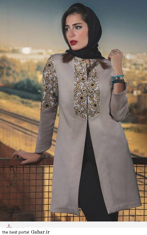 41211 مدل های ایرانی مانتو پاییزه از برند Aida Rahimi