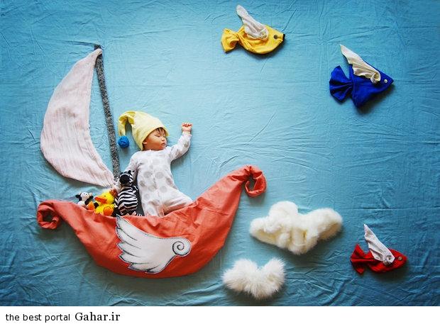 686928 مادری که با خلاقیت فوق العاده نوزادش را جهانی کرد / عکس