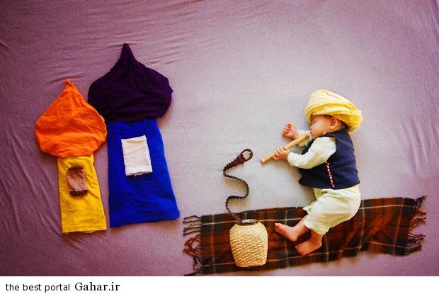 686937 مادری که با خلاقیت فوق العاده نوزادش را جهانی کرد / عکس
