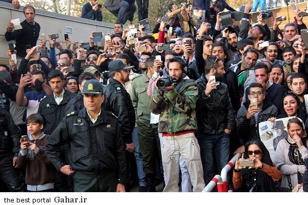 701364 عکس های تجمع هواداران مرتضی پاشایی مقابل بیمارستان