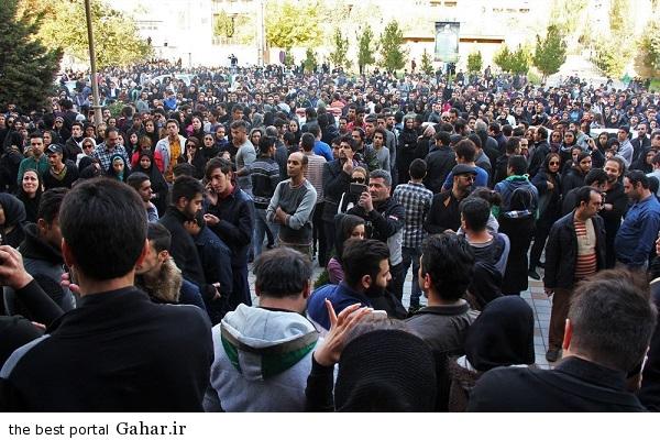 701365 عکس های تجمع هواداران مرتضی پاشایی مقابل بیمارستان