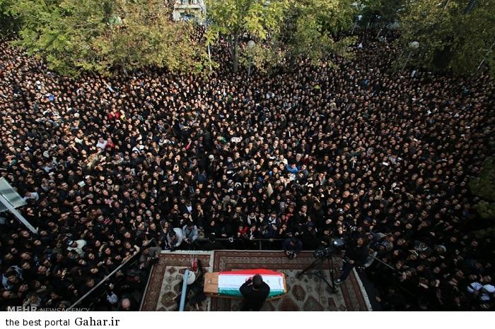 عکس های مراسم تشییع پیکر مرتضی پاشایی
