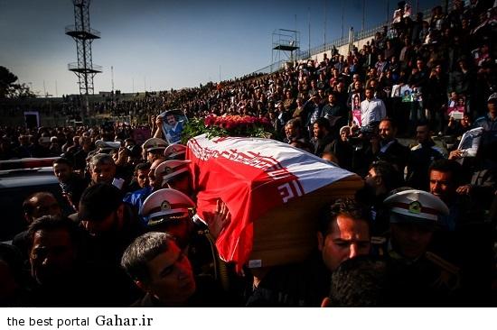 706265 وداع با سرطلایی، مراسم تشییع غلامحسین مظلومی / عکس