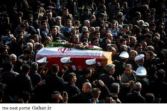 706276 وداع با سرطلایی، مراسم تشییع غلامحسین مظلومی / عکس