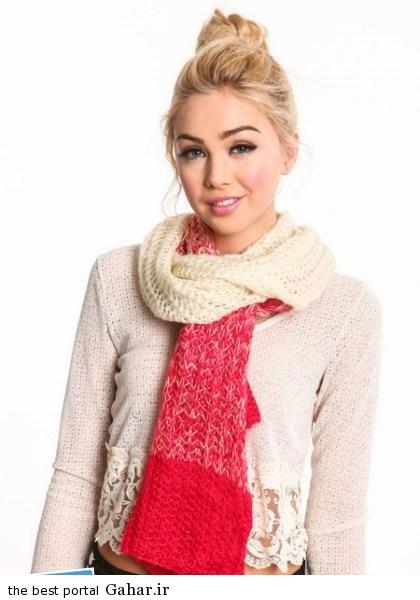 72dad80f39 مدل جدید شال گردن دخترانه