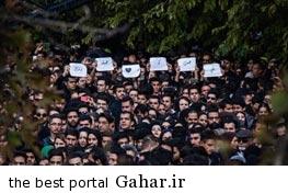 9308 1h836 ازدحام طرفداران مرتضی پاشایی در مجلس ترحیم او