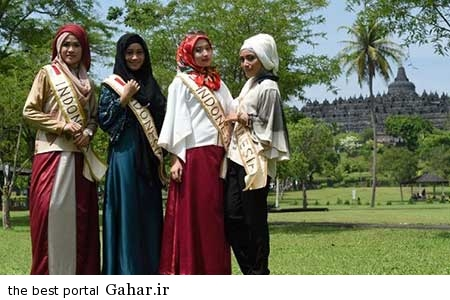 9308 9m2978 عکس ملکه های زیبایی اندونزی با معیار انتخاب جالب
