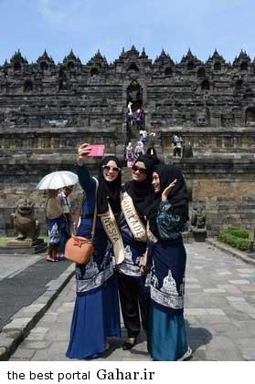 9308 9m2980 عکس ملکه های زیبایی اندونزی با معیار انتخاب جالب