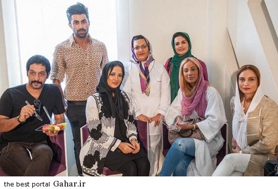 Bazigaran 4856 عکس های بازیگران در افتتاحیه کلینیک زیبایی