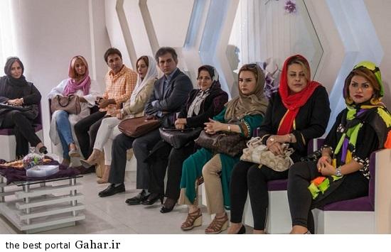 Bazigaran 4859 عکس های بازیگران در افتتاحیه کلینیک زیبایی