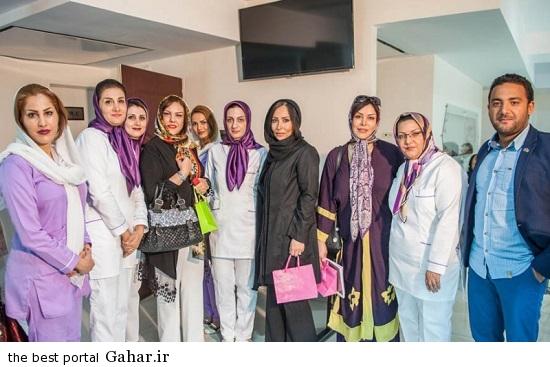 Bazigaran 4863 عکس های بازیگران در افتتاحیه کلینیک زیبایی