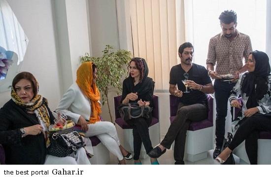 Bazigaran 4864 عکس های بازیگران در افتتاحیه کلینیک زیبایی