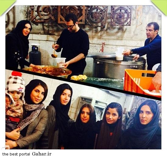 Bazigaran 4872 عکس های بازیگران در روز تاسوعا و عاشورا 93