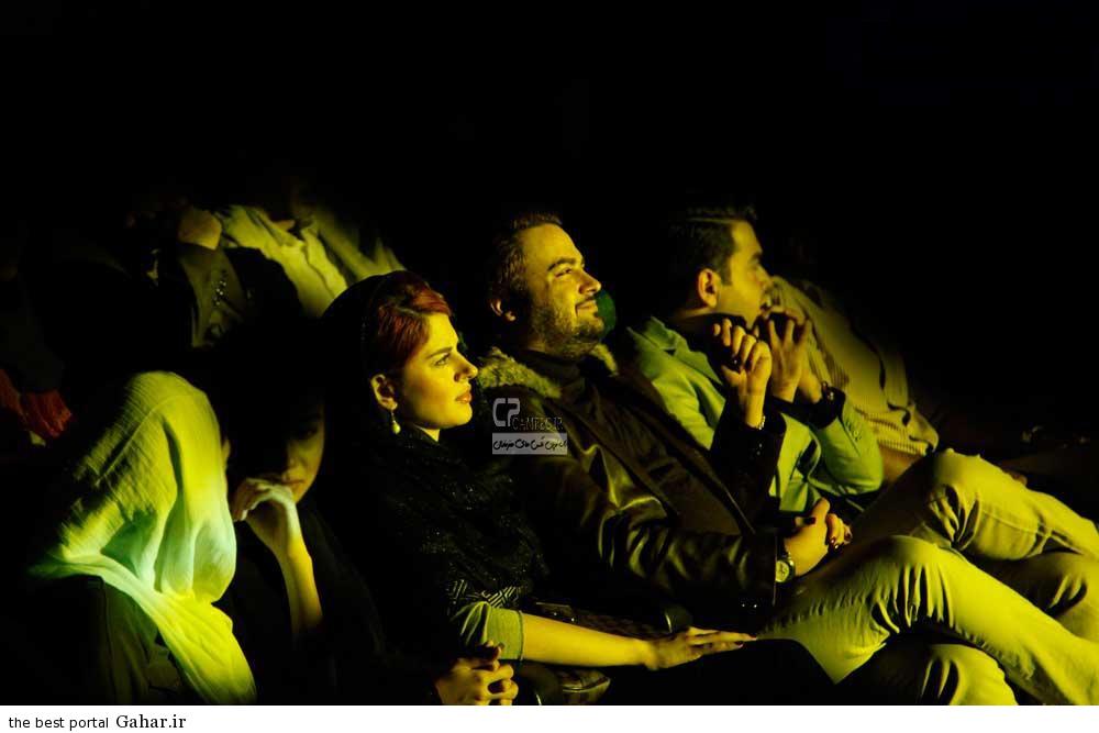 Bazigaran 4911 عکس های مهدی سلوکی و همسرش در کنسرت خواننده معروف