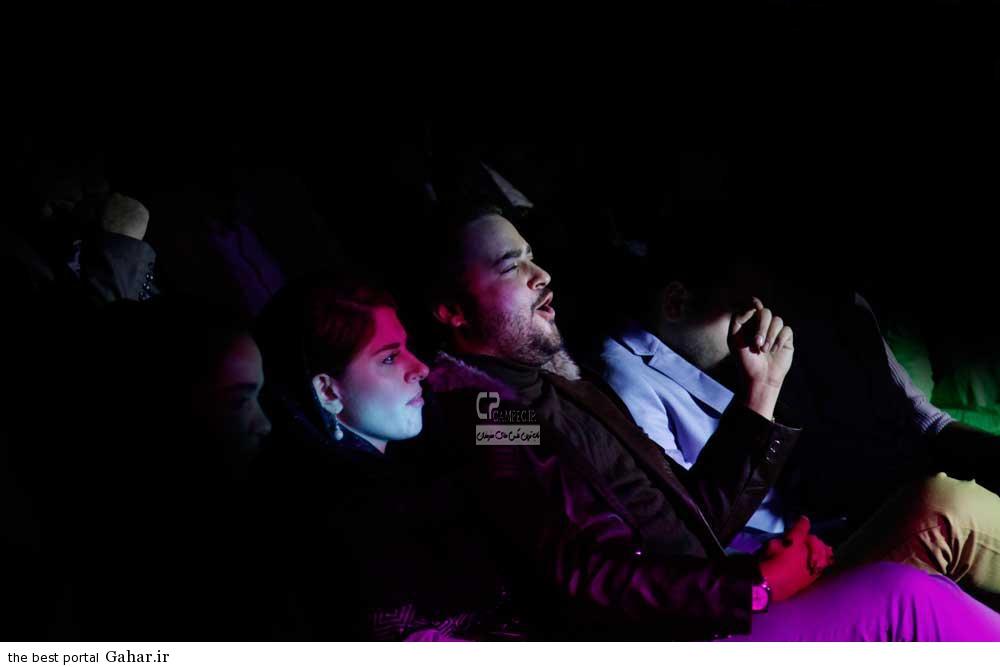 Bazigaran 4912 عکس های مهدی سلوکی و همسرش در کنسرت خواننده معروف