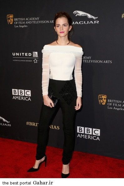 Emma Watson BAFTA Los Angeles Jaguar Britannia ijSYMK3zVxDl عکس های جدید اما واتسون در لس انجلس