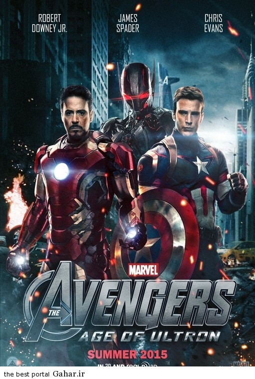 avengers age of ultron poster11 دانلود تریلر فیلم زیبای Avengers 2: Age of Ultron