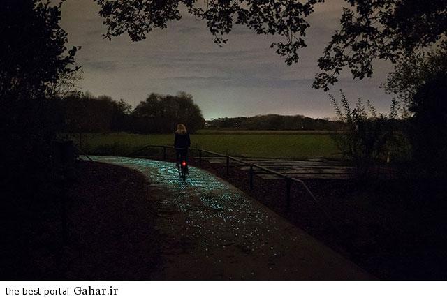 bike path 2 خلاقیت زیبای هنرمند هلندی در ساخت مسیر دوچرخه سواری