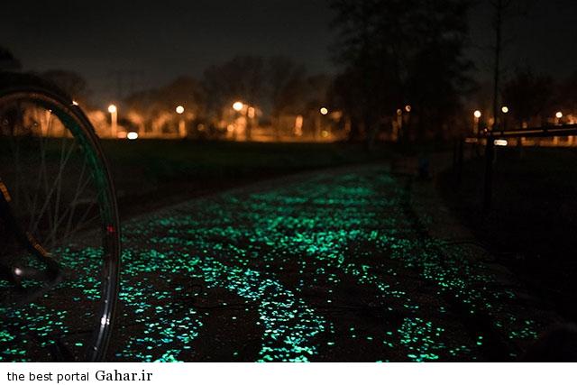 bike path 4 خلاقیت زیبای هنرمند هلندی در ساخت مسیر دوچرخه سواری