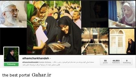elham charkhande 12 خداحافظی همیشگی الهام چرخنده / عکس