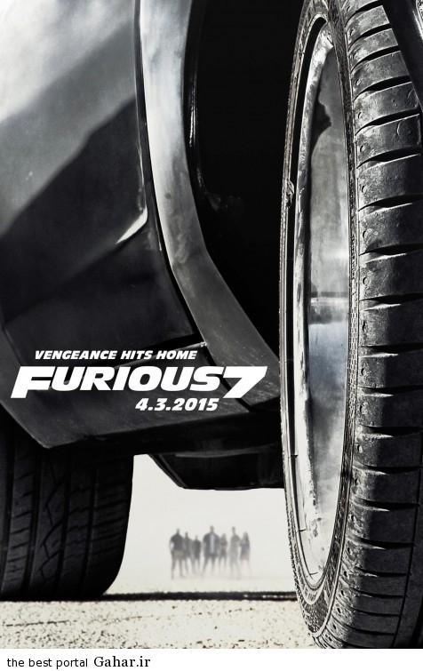 furious 7 poster2 دانلود تریلر فیلم دیدنی Furious 7