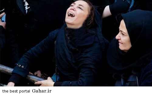 hamsar pashaei morteza گریه های بی امان نامزد مرتضی پاشایی / عکس