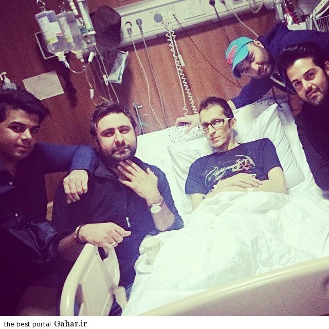 morteza pashaei534 آخرین وضعیت مرتضی پاشایی (آبان 93) + عکس بازیگران در کنار تختش