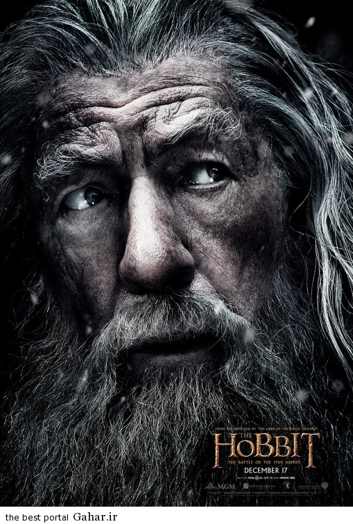 the hobbit the battle of the five armies poster5 دانلود تریلر فیلم جذاب The Hobbit: The Battle of Five Armies
