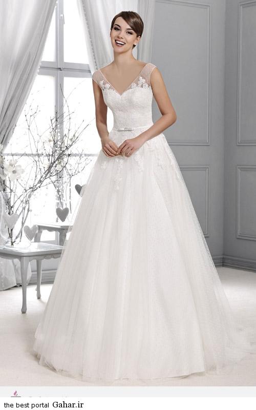 1129 مدل های شیک لباس عروس برند Agnes Bridal Dream